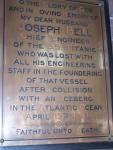 Joseph Bell Memorial St Faith's Church CrosbyMerseyside