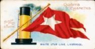 WHITE STAR HOUSE FLAG