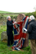 Unveiling the Restored Headstone by John Lightfoot MBE CEng