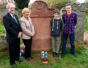 John Lightfoot, Hazel Hartley, Edward Freer, Toby Fretwell (who spoke on Joseph's Education)