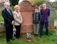 John Lightfoot, Hazel Hartley, Edward Freer, Toby Fretwell (who spoke on Joseph's Education)