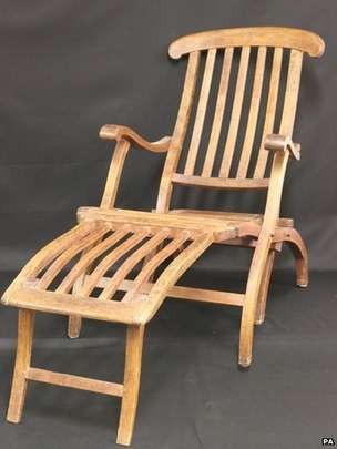 Titanic Deckchair for sale