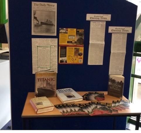 Carlisle City Library Joseph Bell Display